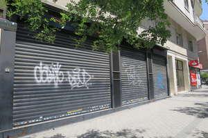 Commercial premise in Hispanoamérica, Chamartín, Madrid.