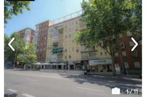 Flat in Vallehermoso, Chamberí, Madrid.